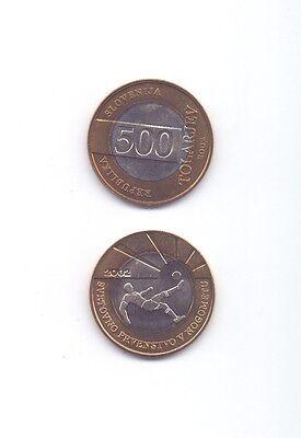 Slowenien / SLOVENIA - 500 Tolar 2002 UNC - Sondermünze