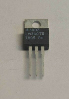 LM7805CT 5V VOLTAGE REGULATOR, 2 OFF