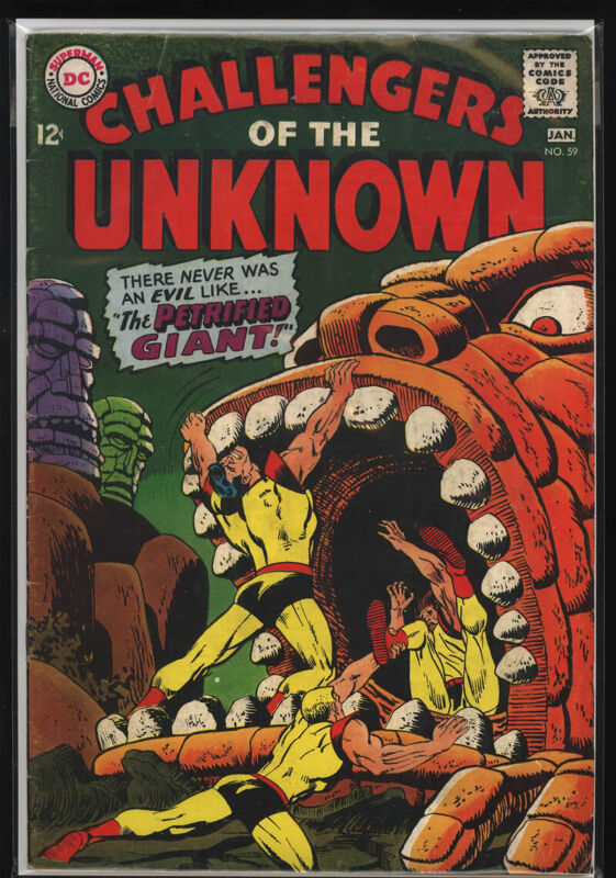 CHALLENGERS OF THE UNKNOWN #59