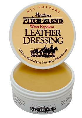 Montana Pitch Blend Leather Dressing Conditioner Preservative Paste With Beeswax