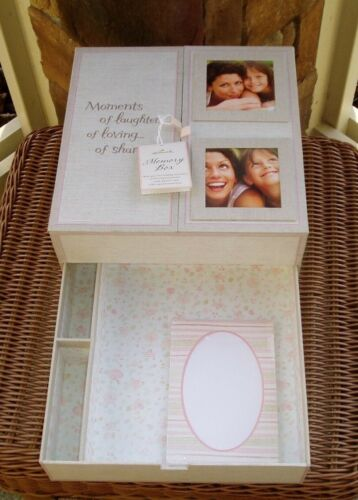 New Hallmark MEMORY BOX with Drawer Moments of laughter...of loving...of sharing