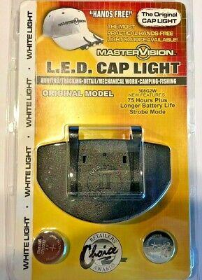 Master Vision 3 LED Cap Light- Hands Free-Lightweight-Ultra Bright Hands Free Led Cap Light