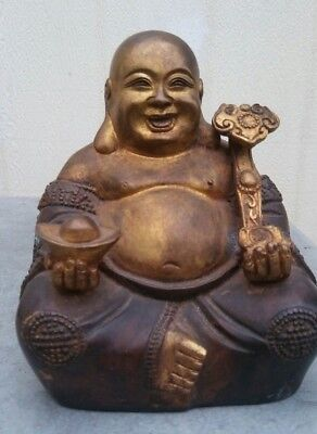 China antique brass Buddha