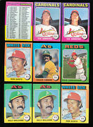 1975 Topps Star Lot