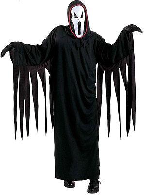 Screaming Ghost Gespenster Kostüm für Kinder NEU - Jungen Karneval Fasching Verk ()