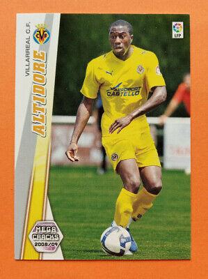 ALTIDORE Rookie Card Villarreal CF #482 Megacracks 2008 2009 Liga 08 09