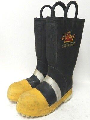 Thorogood Hellfire Steel Toe Firefighter Fire Fighter Boots Size 7 Medium