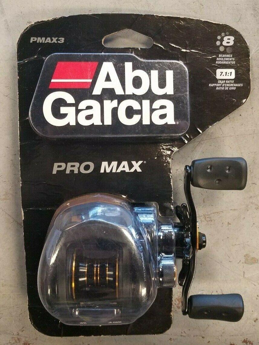 NEW -- Abu Garcia PMAX3 Pro Max Low Profile Baitcasting Fish