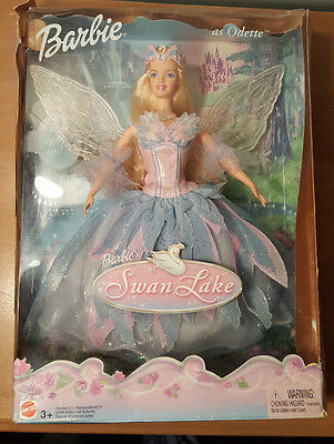 Mattel, Made in Indonesia B2766 Swan Lake Barbie Doll as ODETTE w Light Up Wings
