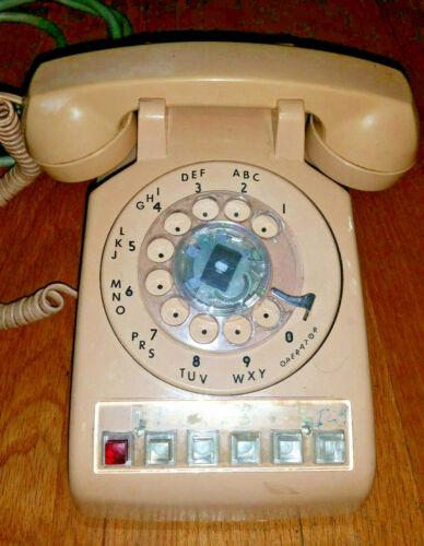 MultiLine 5 Line Dial Phone 1987 Western Electric Model 564