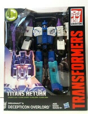 Transformers Generations Titans Return Leader Class Decepticon Overlord New Toy