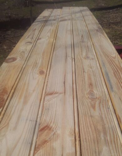 Southern Yellow Pine Colonial Siding (1 linear ft)