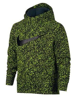 235fac7f3764 Nike Youth Therma Dri-fit Hoodie Camo Size S Volt Black Jordan Tech Fleece  Boys