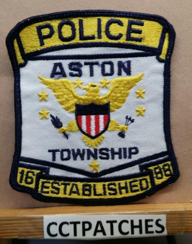ASTON TOWNSHIP, PENNSYLVANIA POLICE SHOULDER PATCH PA