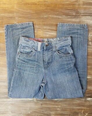 Boys Mossimo Jeans Straight Leg Gray Blue Wash Premium Denim Pants Kids 8 SALE Mossimo Kids Jeans