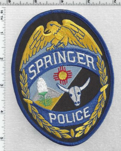 Springer Police (New Mexico) 3rd Issue Shoulder Patch