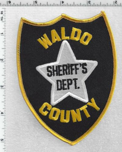Waldo County Sheriffs Dept (Maine) 3rdd Issue Shoulder Patch