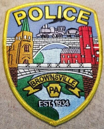 PA Brownsville Pennsylvania Police Patch