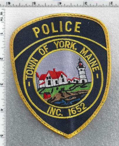 Town of York Police (Maine) 2nd Issue Uniform Take-Off Shoulder Patch