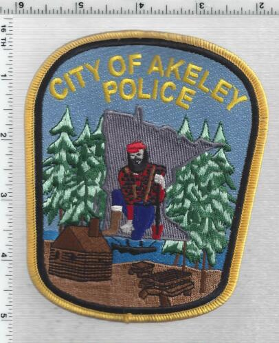 City of Akeley Police (Minnesota) 1st Issue Shoulder Patch