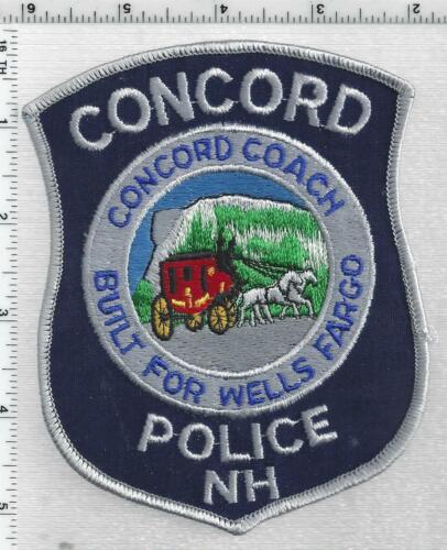 Concord Police (New Hampshire) 6th Issue Shoulder Patch