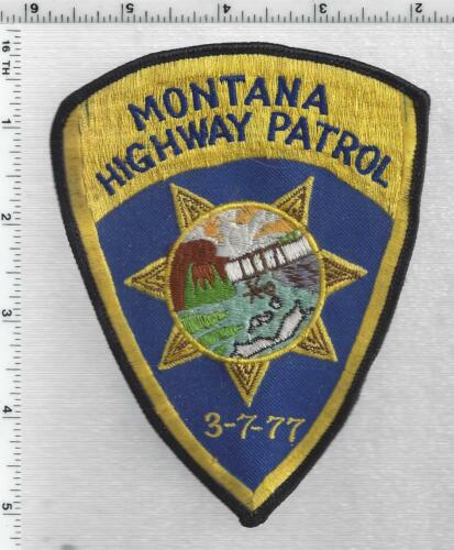 Montana Highway Patrol 1st Issue Shoulder Patch