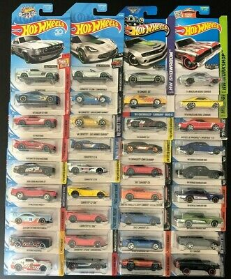 HOT WHEELS ZAMAC MUSTANG,CORVETTE,CAMARO & CHARGER  (36) VHTF NO DUPS