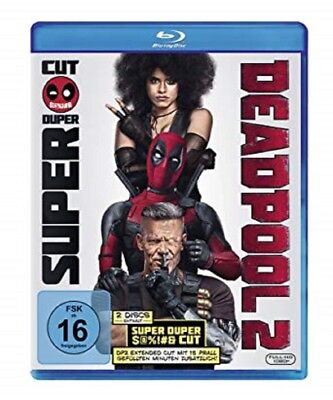 Deadpool 2 Blu-ray Extended Version NEU OVP Teil 2