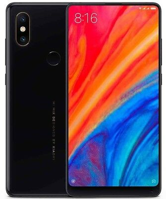 "Xiaomi Mi Mix 2S 64GB Black (FACTORY UNLOCKED) 5.99"" 6GB Ram 12MP Dual Sim"