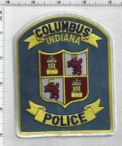 Columbus Police (Indiana) 5th Issue Shoulder Patch