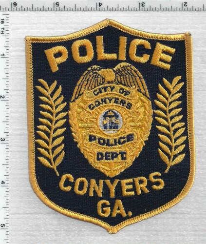 City of Conyers Police (Georgia) 5th Issue Shoulder Patch