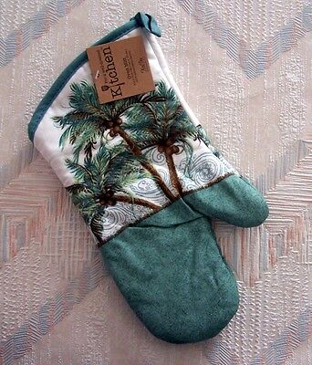 (Palm Trees Oven Mitt Kay Dee Key West Pattern)