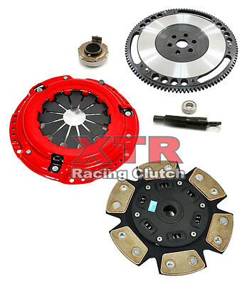 XTR STAGE 3 CLUTCH KIT+FORGED LIGHT FLYWHEEL for 92-05 HONDA CIVIC 93-97 DEL SOL Del Sol 3 Light