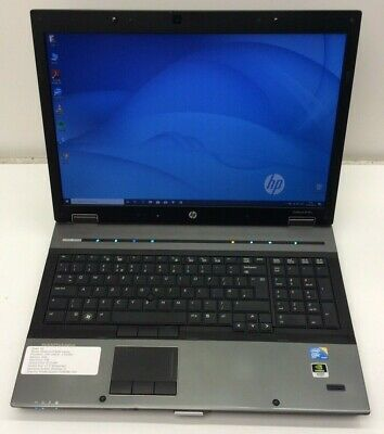 "HP Elitebook 8740w Laptop -Intel Core i5@2.4GHz / 8GB / 1TB / 17.3"" / Wifi / W10"