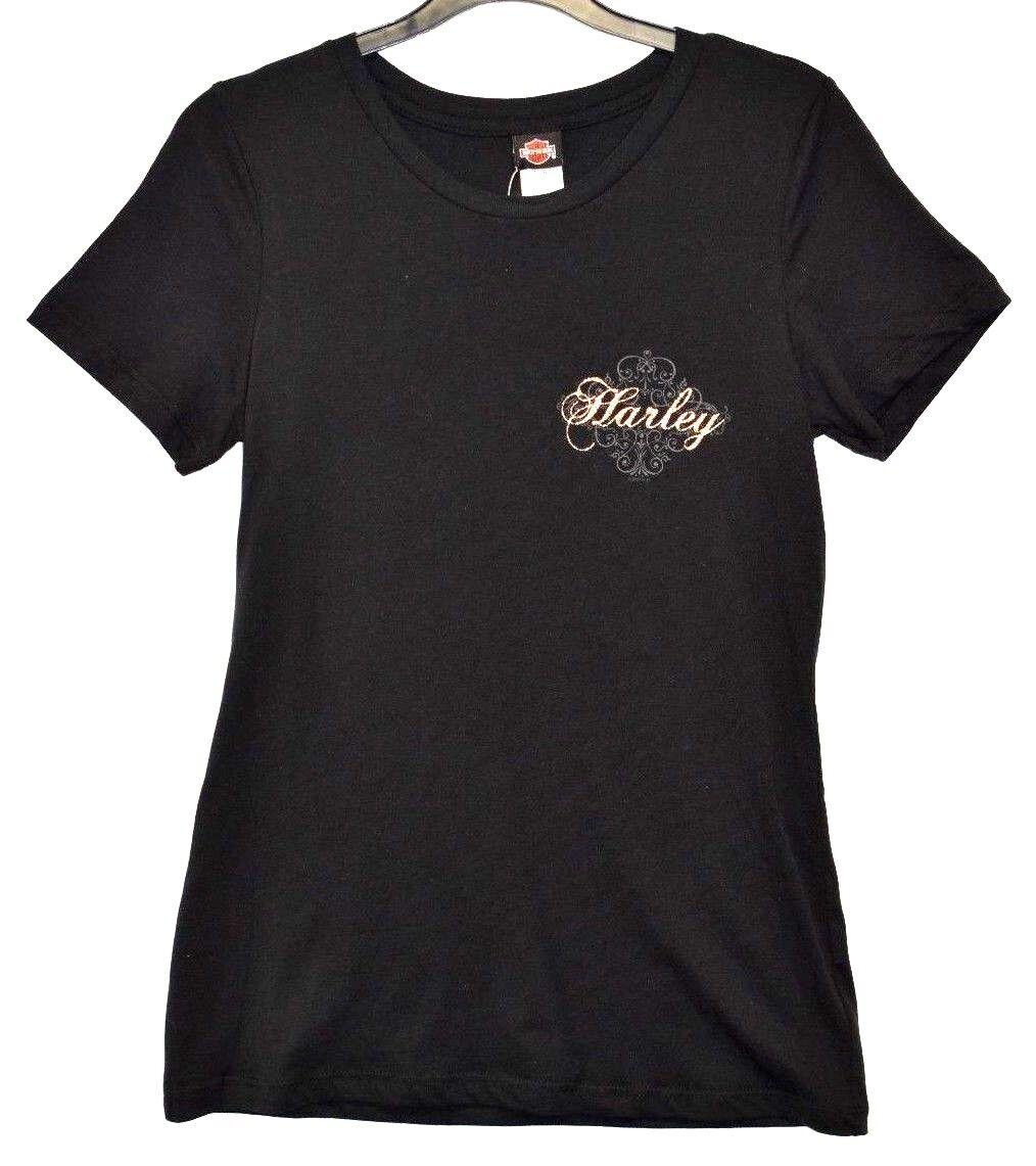 Genuine Harley Davidson Ladies//Women/'s We Pledge Dealer T-Shirt Robin Hood