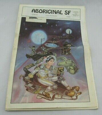 Aboriginal SF Science Fiction October 1986 Magazine 1st Issue!