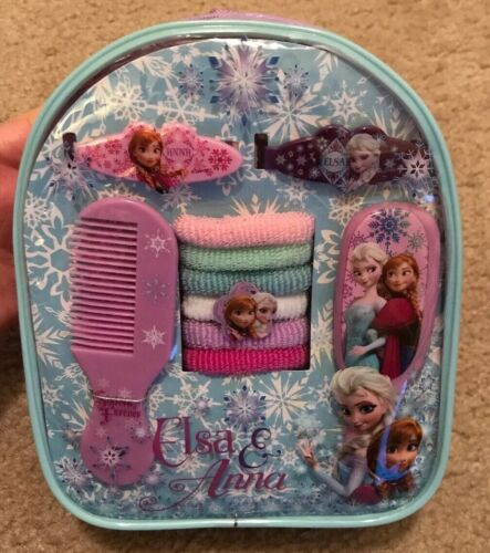 Disney Frozen Kids Hair Accessory Set Mini Backpack Storage