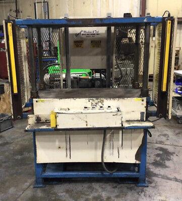 Trim Press 80 Gal Hydraulic Power Unit 48x22x27.5 15hp 562taw