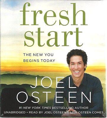 Fresh Start Joel Osteen New Audio Book Unabridged Christian Inspirational 3 Cds