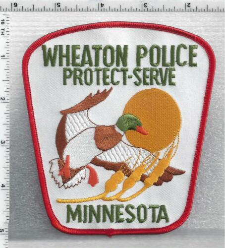 Wheaton Police (Minnesota) 3rd Issue Shoulder Patch