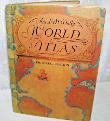1934 - 35 Rand McNally World Atlas Pictorial Edition