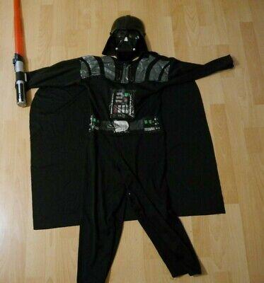 Kostüm Fasching Darth Vader Maske Lichtschwert Star Wars Disney Lucas 128