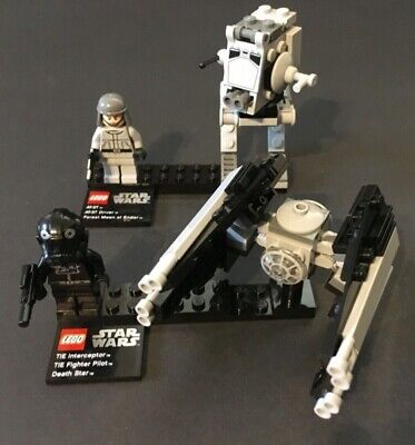 LEGO STAR WARS AT-ST  9679  + TIE INTERCEPTOR 9676