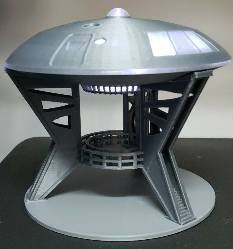 Jupiter 2 [from Lost in Space] - with Lights & Gantry Stand - Medium