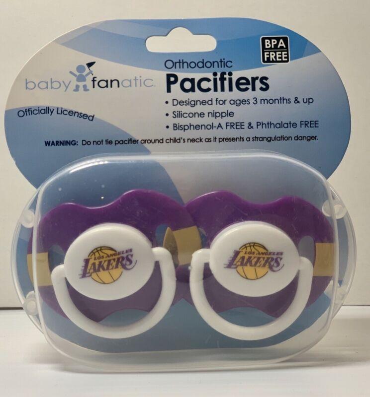 Lakers Baby Pacifier BPA free  NBA Basketball