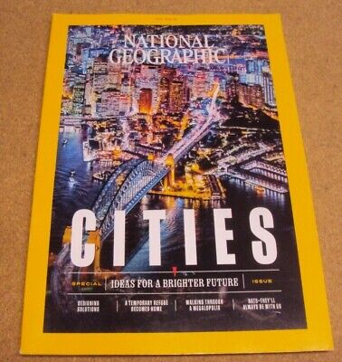 National Geographic April 2019 Cities Designing Solution Communities Tokyo Rats