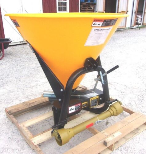 New Tar River  SSP-400  3 pt. Spreader/Seeder --Can Ship Cheap and Fast!