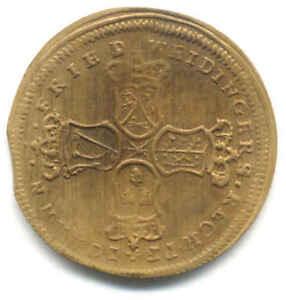 JOHANN-FRIEDRIC-WEIDINGERS-GETTONE-TEDESCO-NORIMBERGA-XVII-SECOLO