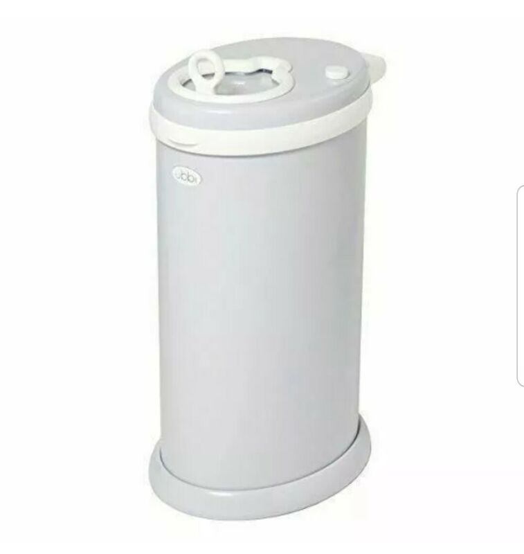 Ubbi 10006 Steel Diaper Pail - White