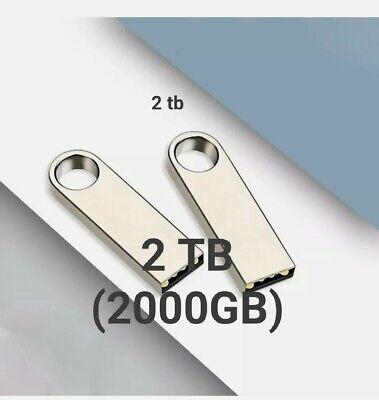 2TB (2000gb) USB 2.0 Memory Stick Flash Thumb Pen Drive 1TB,512GB,256GB,128GB